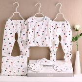 初生寶寶內衣套裝棉質新生兒冬季衣服0-3月嬰兒用品秋冬滿月禮盒 免運直出 聖誕交換禮物