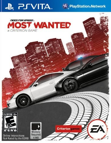 PSV VITA 極速快感:新全民公敵 -英文版- Need For Speed Most Wanted
