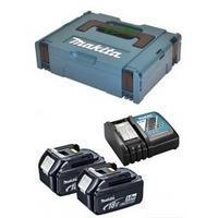 牧田 makita197663-2 鋰電 12V 充電器2Ah 充電電池超值組 附牧田工具箱