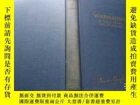 二手書博民逛書店RHEUMATISM罕見Its Cause,Nature and Treatment (1926年版)Y370