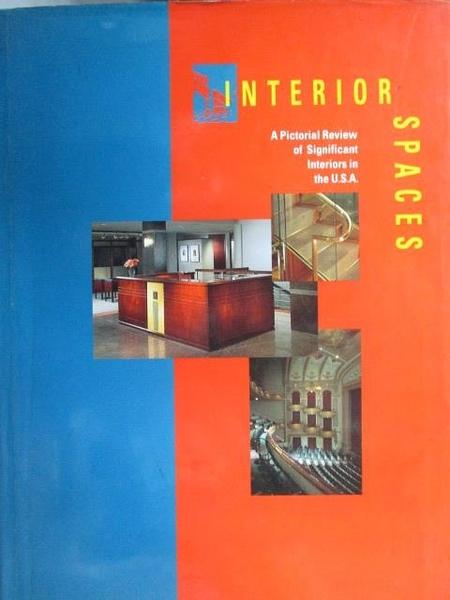 【書寶二手書T5/建築_YAZ】Interior Spaces