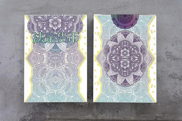 【USPCC 撲克】CHINESE LEGAL TENDER 標準版 PLAYING CARDS