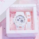 流行女錶 手錶女ins風學生韓版潮流時尚數字式2020年新款運動電子錶 店慶降價