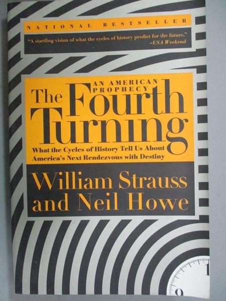 【書寶二手書T2/社會_WGC】The Fourth Turning: An American Prophecy_Str