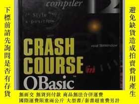 二手書博民逛書店英文原版罕見Crash Course in QBASIC by