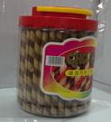 sns 古早味 懷舊零食 巧克力 捲心酥 脆笛酥 (700公克)