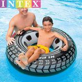 INTEX成人游泳圈男女初學者游泳裝備大號加厚充氣腋下浮圈救生圈HM 衣櫥の秘密