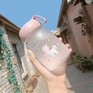 玻璃杯 迷你玻璃杯便攜韓國簡約森系清新水杯女可愛超萌小巧網紅少女杯子 晶彩 99免運