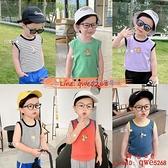男童無袖背心T恤兒童裝薄款嬰兒1歲3洋氣潮【齊心88】