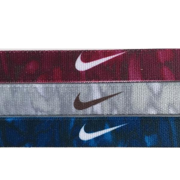Nike Printed Headbands [NJN94975OS] 女 簡約 髮帶 髮束 寬版 運動 止滑 3入