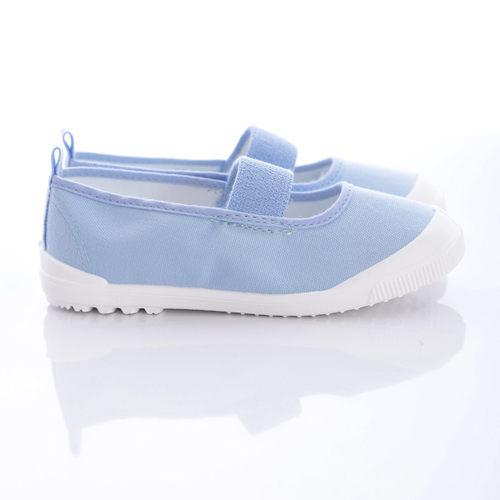 日本Moonstar月星機能童鞋日本進口抗菌室內鞋-MS1951-藍-中大童-(15cm-25cm)