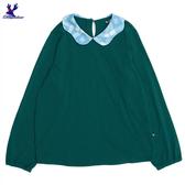【三折特賣】American Bluedeer - 花邊領針織上衣 秋冬新款