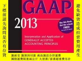 二手書博民逛書店Wiley罕見Gaap 2013: Interpretation And Application Of Gener