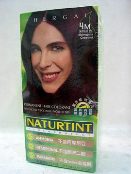 NATURTINT赫本~4M深棕紅色染髮劑