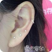 999銀耳釘耳棒女 氣質簡約韓國925防過敏耳針棒養耳棍小耳飾純銀 港仔會社