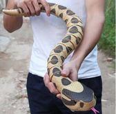 遙控大蟒蛇動物模型兒童男禮物新奇玩具兇猛蛇整蠱仿真毒蛇王限時八九折