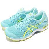 【五折特賣】Asics 慢跑鞋 Gel-Phoenix 8 藍 黃 八代 避震透氣 女鞋 亞瑟士 運動鞋【PUMP306】 T6F7N-6707