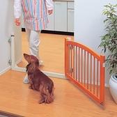 『寵喵樂旗艦店』日本IRIS活動木製柵門WPG-500NL