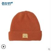 秋冬新款毛線帽休閒可愛學院風針織帽女款加厚保暖帽子 - 風尚3C