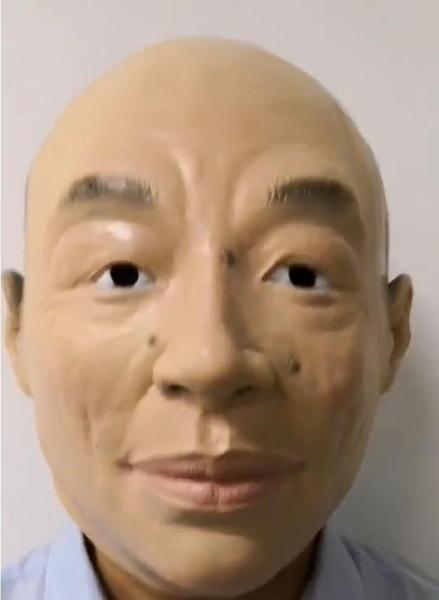 韓國瑜頭套【NT048】乳膠 擬真韓國瑜頭套 現貨 搞笑面具韓總.變裝表演