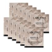 LANCOME 蘭蔻 絕對完美黃金玫瑰鑽白精粹(1ml)X12