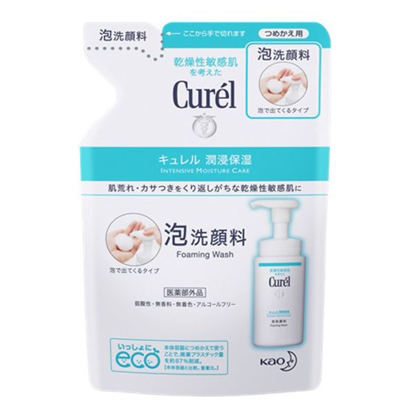 Curel珂潤 潤浸保濕洗顏慕絲補充包 【康是美】