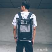 休閒雙肩包男女 韓版原宿學院風校園學生背包個性書包潮包 千惠衣屋