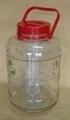 **好幫手生活雜鋪** 特級桃太郎玻璃瓶附提把 36罐 ---收納罐.收納桶.零食罐.塑膠筒.塑膠桶