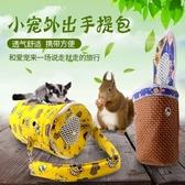 松鼠外帶包手提刺蝟魔王荷蘭豬龍貓紅腹花枝蜜袋鼯小寵外出便攜包 時尚小鋪