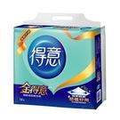 金得意極韌抽取式衛生紙100抽*12包【...