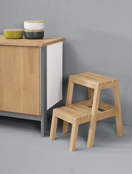 8號店鋪 森寶藝品傢俱 a-01 品味生活     餐椅系列 1030-10 查理多功能樓梯椅(本色)