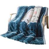 珊瑚絨毯子冬季加厚法蘭絨毛毯學生單人宿舍保暖被子冬用床單雙層【onecity】
