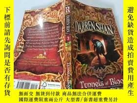 二手書博民逛書店Tunnels罕見of Blood:血脈隧道Y200392