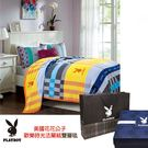 PLAYBOY美國花花公子歡樂時光法蘭絨雙層毯 PB-2203-1