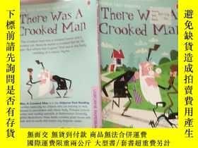 二手書博民逛書店there罕見was a crooked man:有個騙 子Y200392