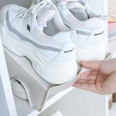✭慢思行✭【G053】簡約雙層鞋架 分層衣櫃 鞋托架 拖鞋 整理架 收納架 居家立體省空間 防滑