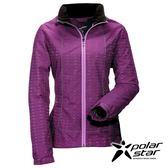 Polarstar 女Fleece防風保暖外套『紫/紅紫』防風│防潑水│保暖 P16202