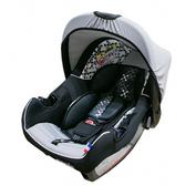 法國NANIA納尼亞提籃式汽座 (珊瑚黑) 贈 雙色EVA汽座保護墊(隨機)