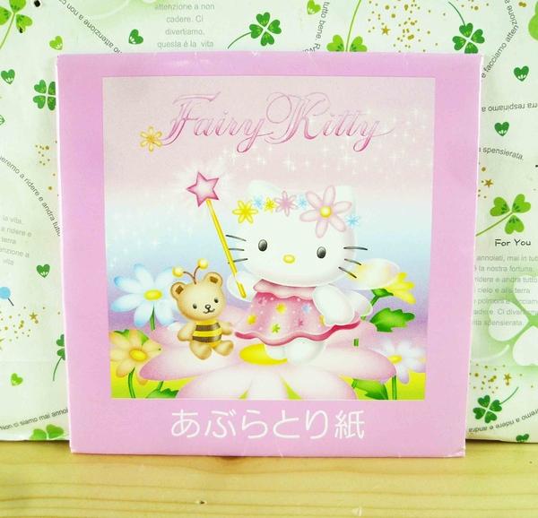 【震撼精品百貨】Hello Kitty 凱蒂貓-KITTY吸油面紙-花仙子圖案