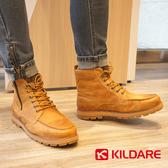 巴西KILDARE 中高筒綁帶休閒靴 咖啡 AL80910-CA 男鞋