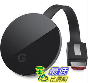 [美國直購] Google Chromecast Ultra 電視棒 4K UHD HDMI 電視棒 新版第三代