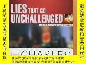 二手書博民逛書店Lies罕見That Go Unchallenged in Popular Culture 【英文原版】Y14
