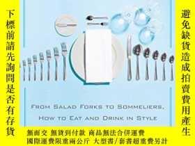 二手書博民逛書店The罕見Mere Mortal s Guide To Fine DiningY256260 Rush, Co