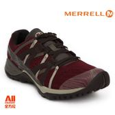 【Merrell】女款 多功能性健行鞋SIREN HEX Q2 E-MESH GORE-TEX-酒紅(42918) 全方位跑步概念館