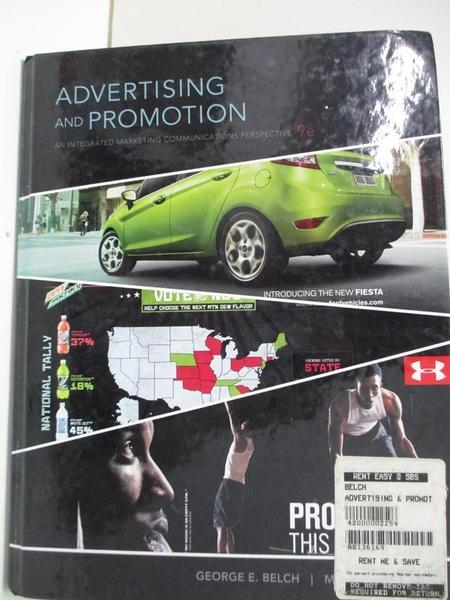 【書寶二手書T5/大學社科_DVD】Outlines & Highlights for Advertising and Promotion_Cram101 Textbook Reviews (COR)