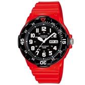 【CASIO】潛水設計運動指針錶-紅(MRW-200HC-4B)