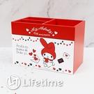 ﹝美樂蒂45週年三格單抽盒﹞正版 收納盒 單抽 置物盒 小物盒 美樂蒂〖LifeTime一生流行館〗