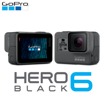 GoPro HERO 6 Black 全方位攝影機(公司貨) 極限運動 WIFI 頂級攝影機【摩利亞】