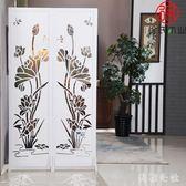 屏風 隔斷玄關時尚客廳簡約現代折疊裝飾 ZB1059『美鞋公社』