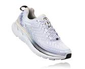 【線上體育】HOKA ONE ONE女 CLIFTON 4 路跑鞋 白/黑珍珠, 6